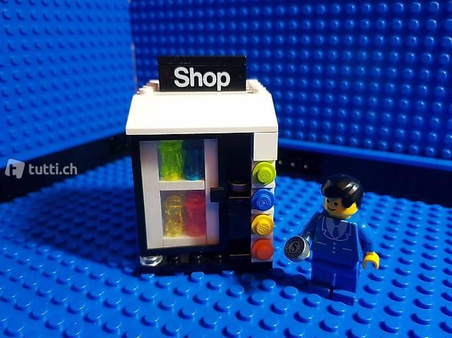 Lego Getränke-Automat für Bahnhof (MOC)