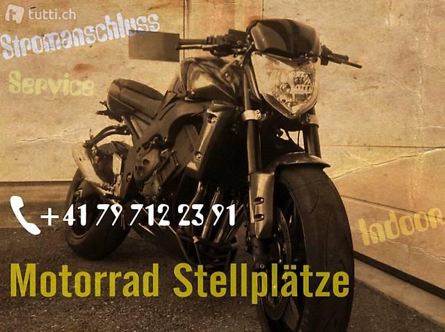 Motorrad Einstellplätze