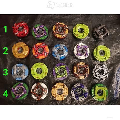 Lego 4 Sets Spinner a 5 Stück, Spinjitzsu Ninjago