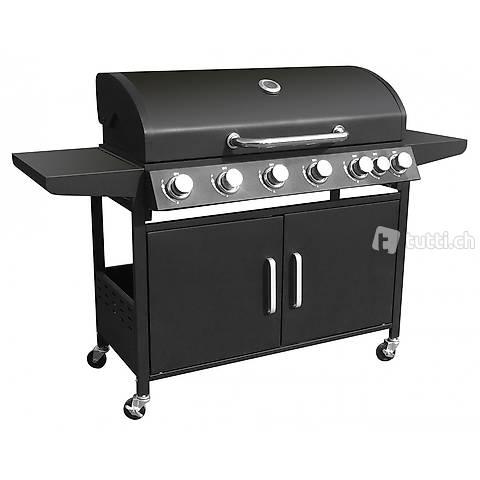 Griglia a gas BBQ 6+1 bruciatori (Consegna gratuita) 2