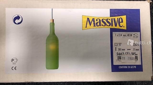 Flaschen -Leuchten
