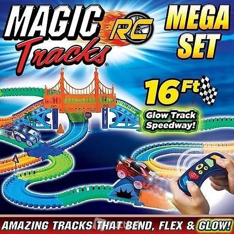 Magic Tracks RC Mega Set champ de courses voiture jouet