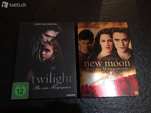 2 Twilight DVDs - Special Edition
