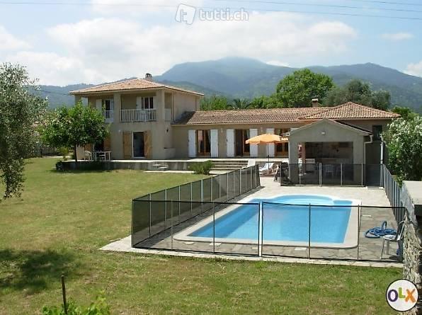 Korsika gemütliches Ferienhaus mit Pool und Sommerküche