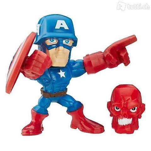 Super Hero Mashers Micro Figuren: Captain America B6691