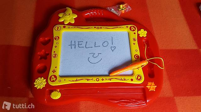 Erasable whiteboard for babies/toddlers