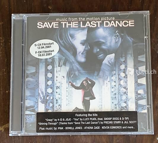 Save the last dance, CD