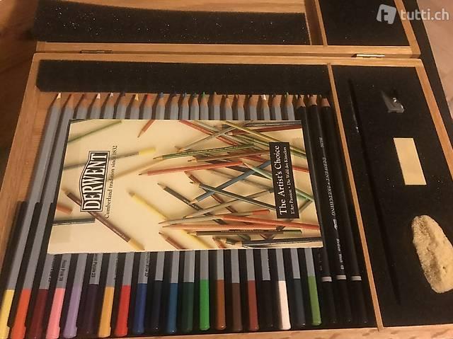 Derwent Wasserfarben-Stifte Kollektion