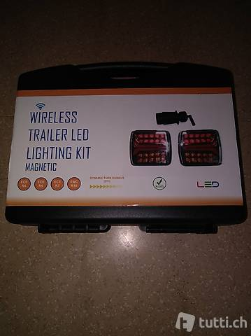 LED Funk-Blinker/Leuchtenset