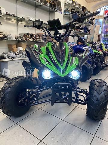 ATV Quad Elektro Midi-Quad Xxl extra breit