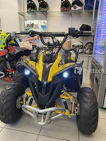 ATV Quad Elektro 1200 Watt gelb