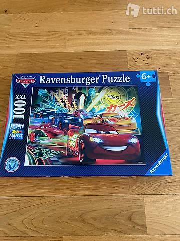 Ravensburger Puzzle, Cars, 100 Teile