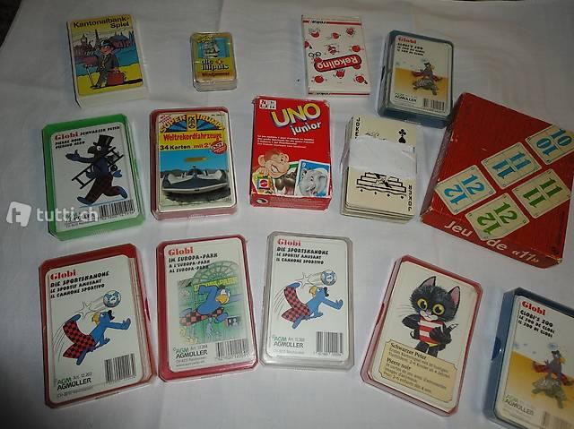 Kartenspiele, Quartette,