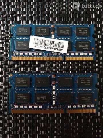2 Stück Hynix RAM 4G - NEU, pro Stück 15,-