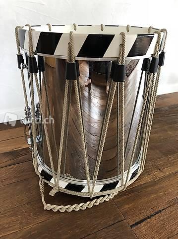 Basler Messing-Trommel 5/4 Werber 42 cm