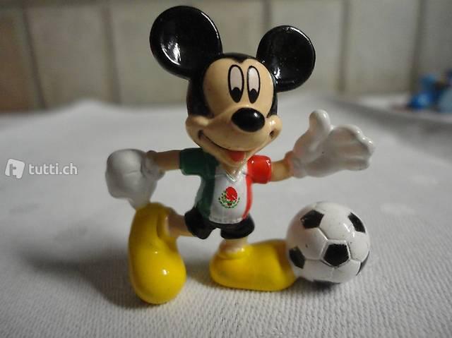 Micky Maus beim Fussballspiel,  ItalienTricot