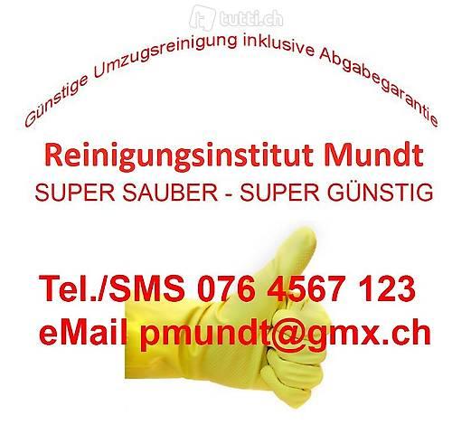 Umzugsreinigung Endreinigung günstig - Kanton Zürich