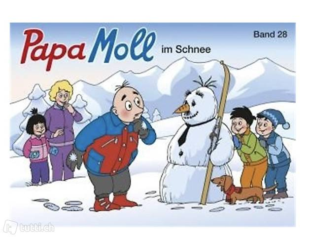 Band 28 Papa Moll im Schnee