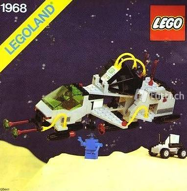 Lego Space Classic 1968 UNKNOWN, so selten dass kein Name