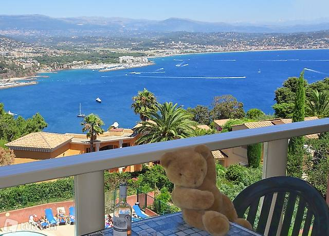 Vue Mer panoramique, Piscine, Calme,Côte d'Azur