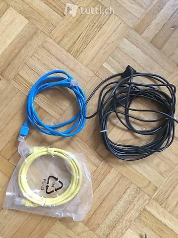 Telefon und Internet kabeln