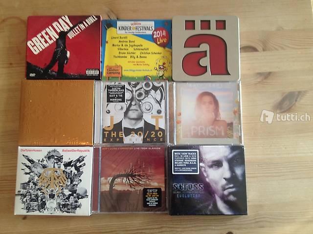 Originalverpackte CDs