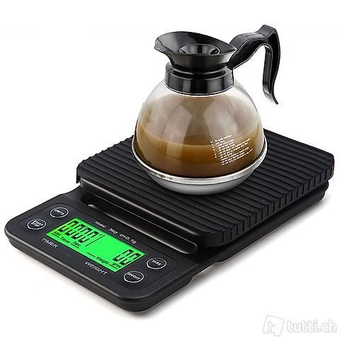 Bilancia digitale di precisione da cucina 3 kg / 0.1 gr