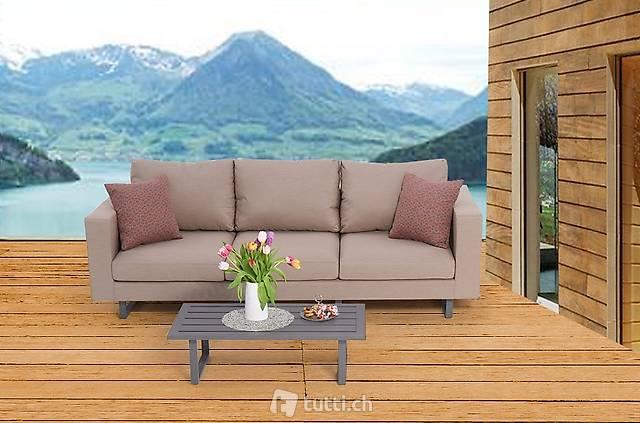Sofa 3 places résistant aux intempéries