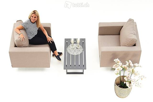 Outdoor fauteuil set - mobilier de jardin