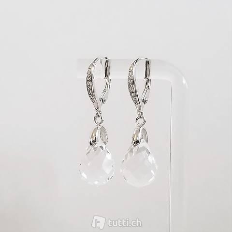 Montalin Briolettes 925 Silber Ohrringe