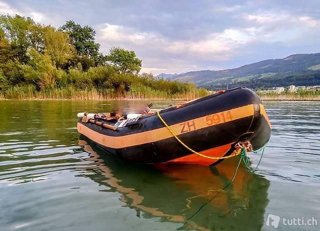Lomac Schlauchboot mit Yamaha 8 PS - 4 Takt, Komplett!