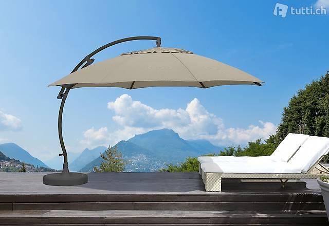 Sun Garden Ampelschirm / Sonnenschirm Easy Sun 375 cm