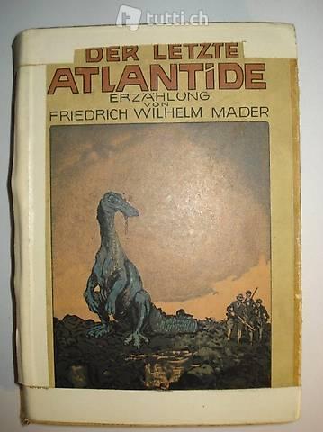 """Antikes Buch """"Der letzte Atlantide"""""""