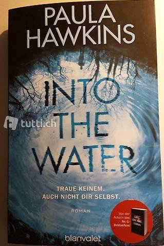 """Taschenbuch """"Into the Water"""" von Paula Hawkins"""