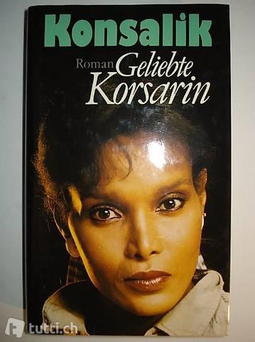"""Buch """"Geliebte Korsarin"""" von H.G. Konsalik"""