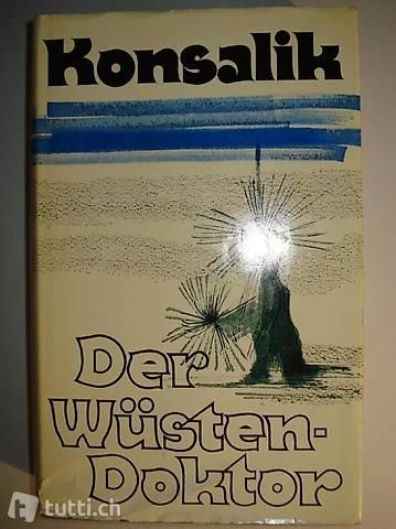 """Buch """"Der Wüsten-Doktor"""" von H.G. Konsalik"""
