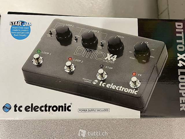tc elelctronic - DITTO X4 LOOPER