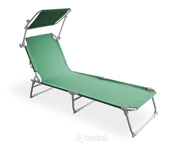 Sedia a sdraio (verde) (Consegna gratuita)