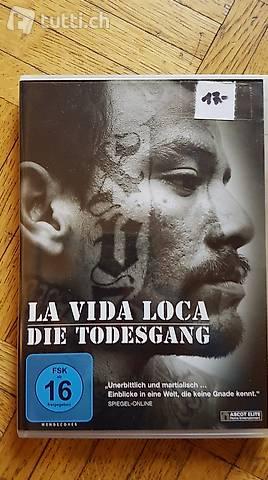 DVD LA VIDA LOCA! DOKU MARA 18!