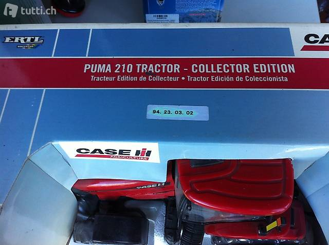 Ertl  Case IH Puma 210 Tractor Collector Edition, 1:16