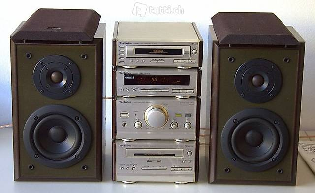 Technics Stereo System SE-HD70 Amplifier, ST-HD70 Tuner, RS