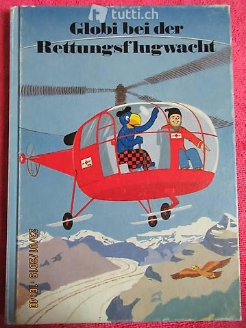 Globi bei der Rettungsflugwacht  ,GLOBI BEI DER