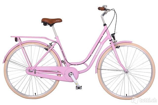 Citybike Verona ROSE PEARL (Gratis Lieferung)