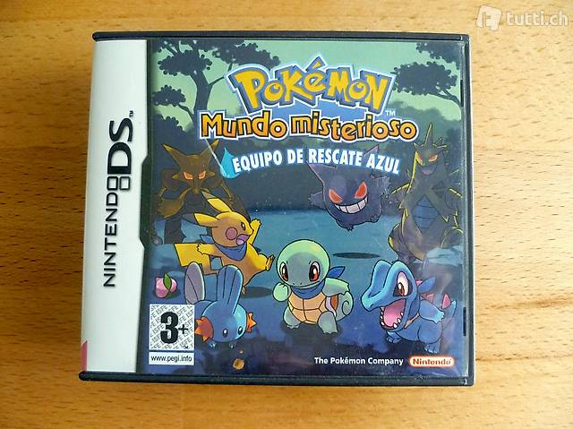 Pokemon Mundo Misterioso: Equipo de rescate azul (SPA) - NDS