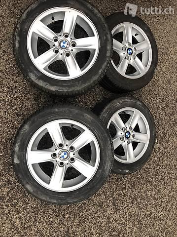 BMW Komplet Räder 16Zoll 205/55R16 91V 5x120
