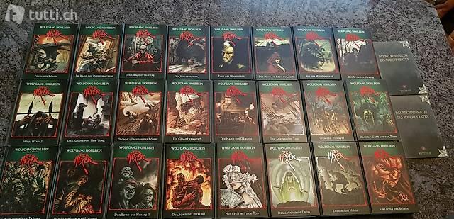 Der Hexer von Wolfgang Hohlbein 24 Bände + 2 Extra Büchlein
