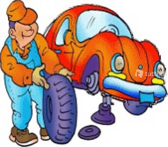 Mobiler Reifenservice-Räder wechseln
