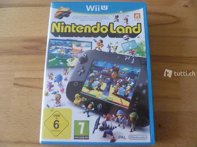 Nintendo Land - Nintendo Wii U (PAL)