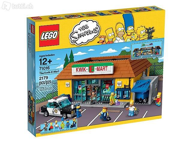 LEGO The Simpsons 71016 Kwik-E-Mart NEU OVP