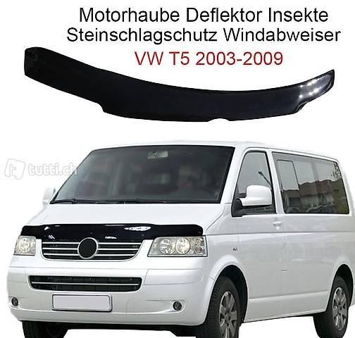 Motorhaube Deflektor und Steinschlagschutz f/ür T6